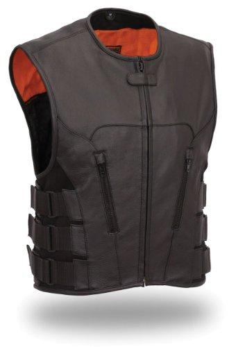 First Manufacturing Men' s Updated SWAT Team Style Vest (Swat Team Abbigliamento)
