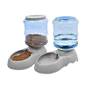 UMI. Essentials Distributeurs automatiques de Nourriture pour Animaux domestiques pour Chats et Chiens - 2 pièces