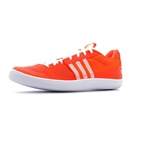 adidas Throwstar, Chaussures d'Athlétisme Homme Multicolore (Solar Red/ftwr White/solar Red)