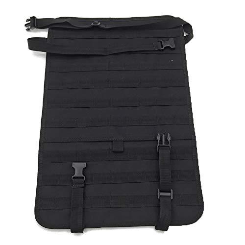 Fjiujin,Autositz-Rückentasche Backpack Plus Weitere taktische Zubehör-Sets(color:55X37CM,size:Schwarz)