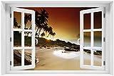 Wallario Poster - Sri Lanka - Palmenstrand mit