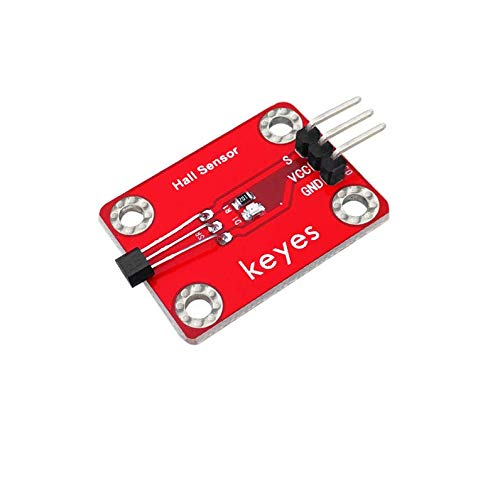 Pzsmocn Arduino Hall Sensor, Used for Non-Contact Switch Detection,Control for Position,Rotary Speed Alarm Devices,Textile Control Systems,High Sensitivity,Fast Response. Alarm Control Interface