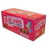 Suet To Go Vogel-Talgblöcke mit Beern und Insekten, 10er-Pack (Einheitsgröße) (Mehrfarbig)