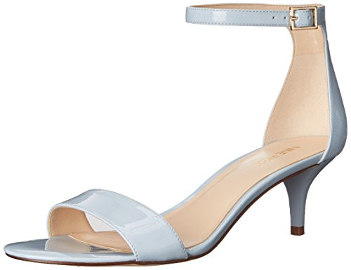 Nine West Leisa Synthetic Kleid Sandale Light Blue