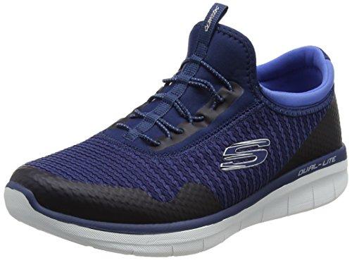 Skechers Synergy 2.0-Mirror Image, Allenatori Donna Blu (Navy/blue)