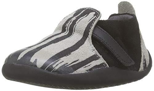 Bobux Unisex-Kinder SU Xplorer Paint Natural Sneaker, Schwarz (Black), 18 EU