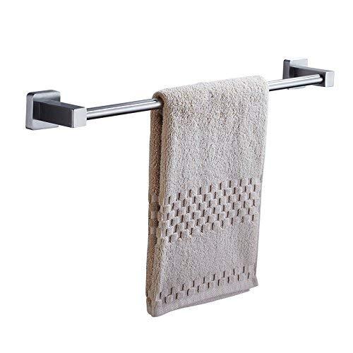 24' Single (QAZ Handtuchhalter 24 '' Single Handtuchhalter, 304 Edelstahl, Handtuchhalter Wandbehang, Handtuchhalter für Badezimmer Küche, gebürstetem Finish Lagerregal)
