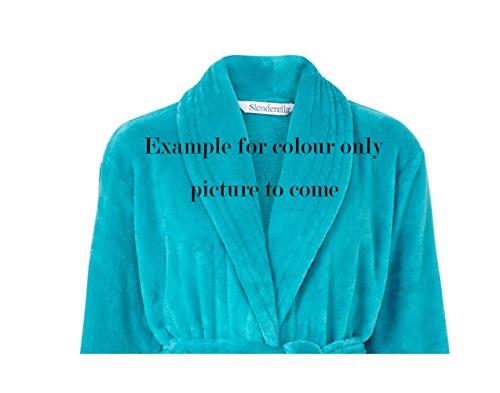 Slenderella - Robe de chambre - Femme bleu sarcelle