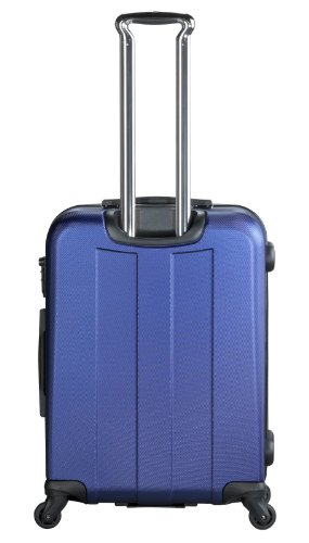 ... 50% SALE ... PREMIUM DESIGNER Hartschalen Koffer - Heys Crown Elite V Blau - Trolley mit 4 Rollen Medium Blau