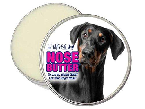 Blissful Dog Nose Butter DOBERMAN PINSCHER Organic Good Stuff for your dogs Crusty / Dry Nose (2oz Tin)