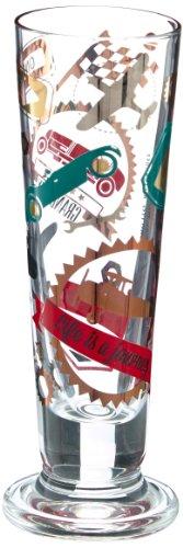 RITZENHOFF Black Label Schnapsglas von Shinobu Ito, aus Kristallglas, 40 ml, mit fünf Schnapsdeckeln