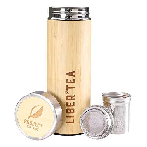 Project Liber'Tea | Envase Bambú | Infusor Té Colador