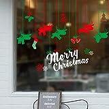 Weihnachten Wandaufkleberwandsticker, Weihnachtsdekorationsticker, Schaufenster Und Türen, Glassticker, Festliche Stimmung
