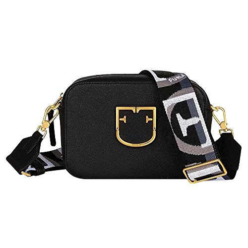 FURLA Bag New Brava Mini Crossbody Brava Borsa A Bandoliera 1007885 Onyx