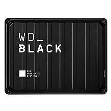 WD WD_BLACK 5 TB P10 Game Drive, Zwart
