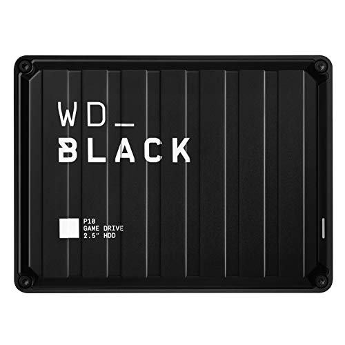 WD_Black  2TB  P10 Game Drive for On-The-Go Access To Your Game Library - Works with Console or PC Best Price and Cheapest