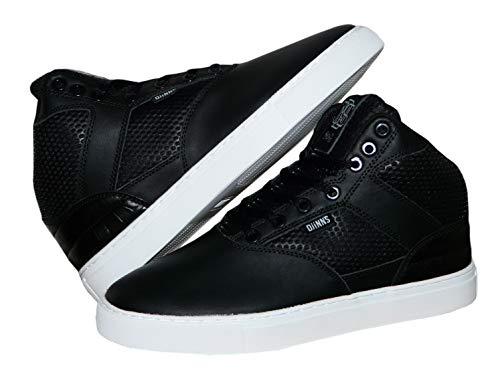 Djinns Sneaker Turnschuh Men Herren Thomson Monochrome High Top (40 EU, Schwarz)
