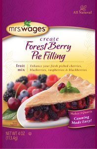 Mrs. Wages Forest Berry Pie Filling by Mrs. Wages