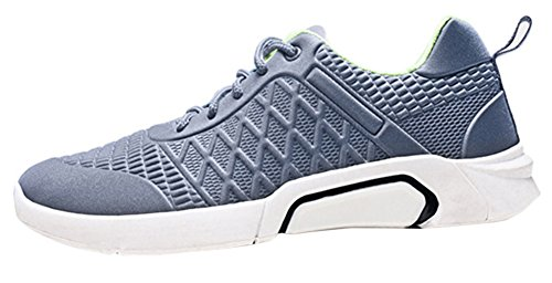 Scothen Hommes Chaussures de Course Respirant Gym Sneakers Loisirs Lacets Sneakers Sneakers Courir Fitness Chaussures de Course Bas Top Mesh Sneakers