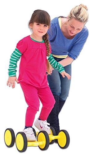 Betzold-Sport-3110-Maxi-Roller-Gleichgewichtstrainer-Koordination-6-Rollen-Kinderroller-Kinder-Kinderfahrzeug-Gleichgewicht-Geschicklichkeit