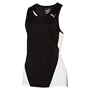 PUMA Unisex – Erwachsene Tank Top Cross the Line Singlet W