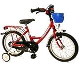 Bachtenkirch 18 Zoll Fahrrad Feuerwehr rot weiss Kinderfahrrad