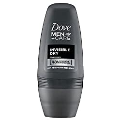 Dove Men + Care Antiperspirant Deodorant - Invisible Dry Roll-on (50ml) - Pack Of 6 By Dove