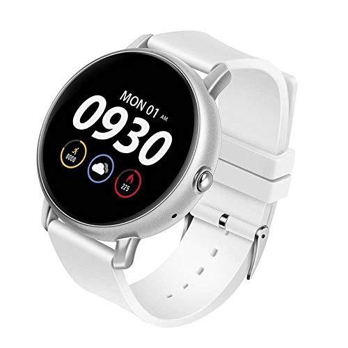 Hokaime Bracelet Watch Smart Heart Rate Monitor Bracelet Watch Bracelet Wristband Watch-Fitness-Tracker Heart-Rate Sport Android, White
