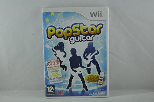 wii - Popstar guitar (1 GAMES) - Guitar Popstar