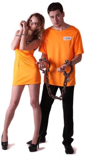Costume coppia carcerati L