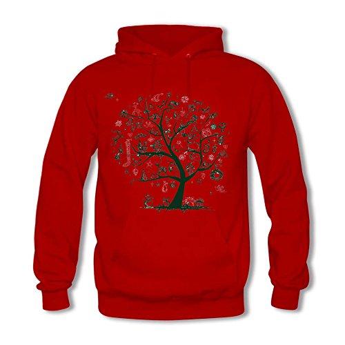 Frohe Weihnachten Baum Geschenke Hoodies (Heather Lang Kostüm)