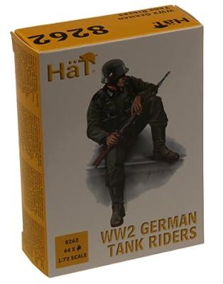 Hät 8262 - 1/72 WW2 German Tank Riders von Hät