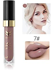 LHWY Waterproof Matte liquid lipstick Long Lasting lip gloss Lipstickl for Women Ladies Girls
