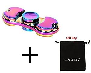ILOVEDIY Hand Fidget Spinner Toys Teniendo alta velocidad Aliviar el estrés, Ansiedad, TDAH Adultos y Niños Juguetes
