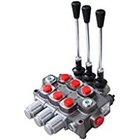Galtech idraulico 3Bank, 1/5,1cm a doppio effetto cilindro, 3posizioni, Spring Return