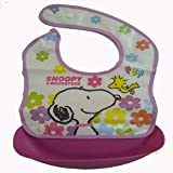 Baby Appron Baby Bib With Attachable Bowl Food Safety Appron For Baby Boy Baby Girl Perfect For Lunch Bib With Cartoon Prints Quick Dry And Washable - B07KS3S9V4