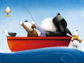 Catch Of The Day - Limited Edition Print By Doug Hyde