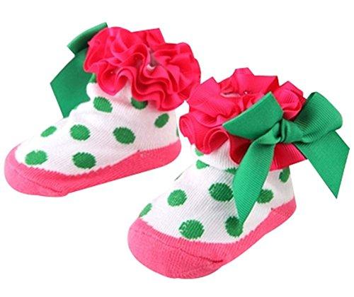 0-1 Jahre Alt Neugeborenes Baby-Socken Fußboden-Socken-Prinzessin (Trumpette Baby-mädchen)
