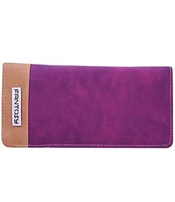 fantosy Purple-Beige Women's Wallet
