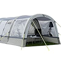 OLPRO Outdoor Leisure Products Cocoon Extension 3.5m x 1.8m Inflatable Drive Away Campervan Awning Porch Extension for Cocoon Breeze Sage Green & Chalk 7