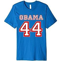 President Barack Obama 44 Shirt Faux Jersey 44th US America