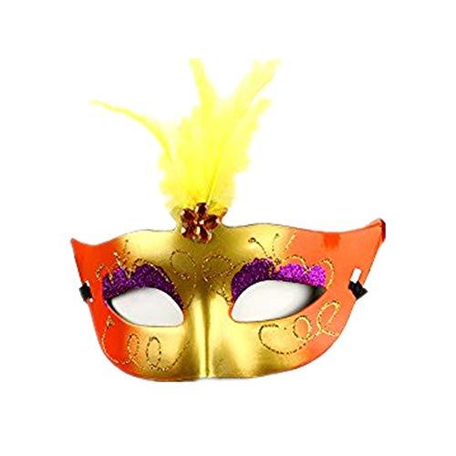 Tagether Halloween LED-Maskerade Maske 2018 Gemalte LED Weihnachten -