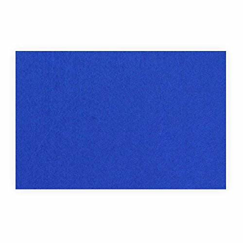 Preisvergleich Produktbild Filz zum basteln selbstklebend A4 blau Klebefilz farbig