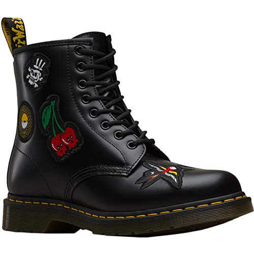 Dr.Martens 1460 Patch Black DM24436001 !!it damskie High-Tops (37, Black)