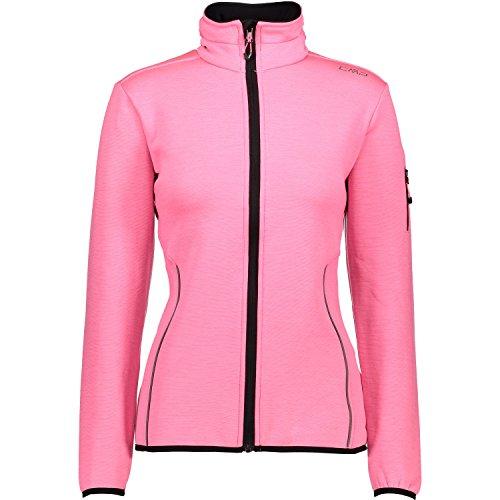 CMP Damen Laufjacke Jacke, Pink Fluo, 38