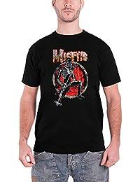 Misfits T Shirt Skeleton Rocker Band Logo Nue Offiziell Herren