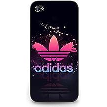 Adidas A Logo Phone Case Cover MK111 for Iphone 5C Black Hard Case_Black
