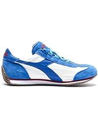 Diadora Scarpe Sneaker Uomo 201.156988 C0681 Equipe Stone Wash Bianco Blu 44 5c4ff1a9164