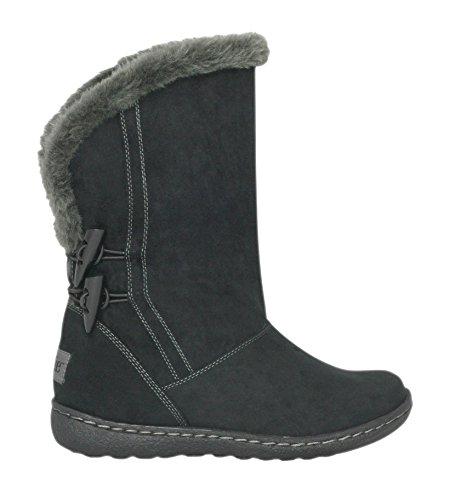 PixieSophie - Stivali a Gamba Larga donna , nero (Black), 38 EU