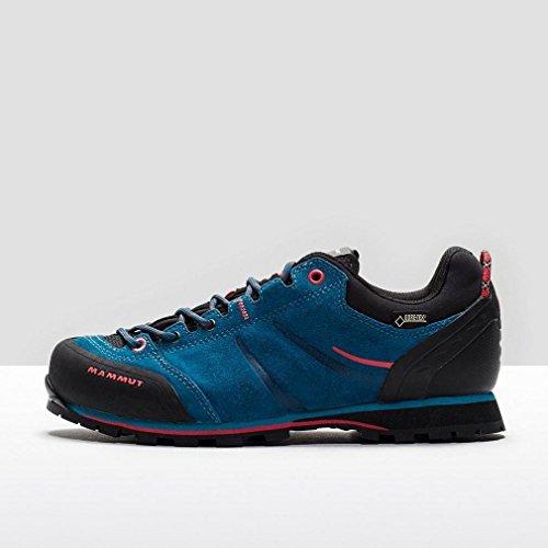 MAMMUT Wall Guide Low GTX Chaussures de randonnée Femme Bleu/Rouge